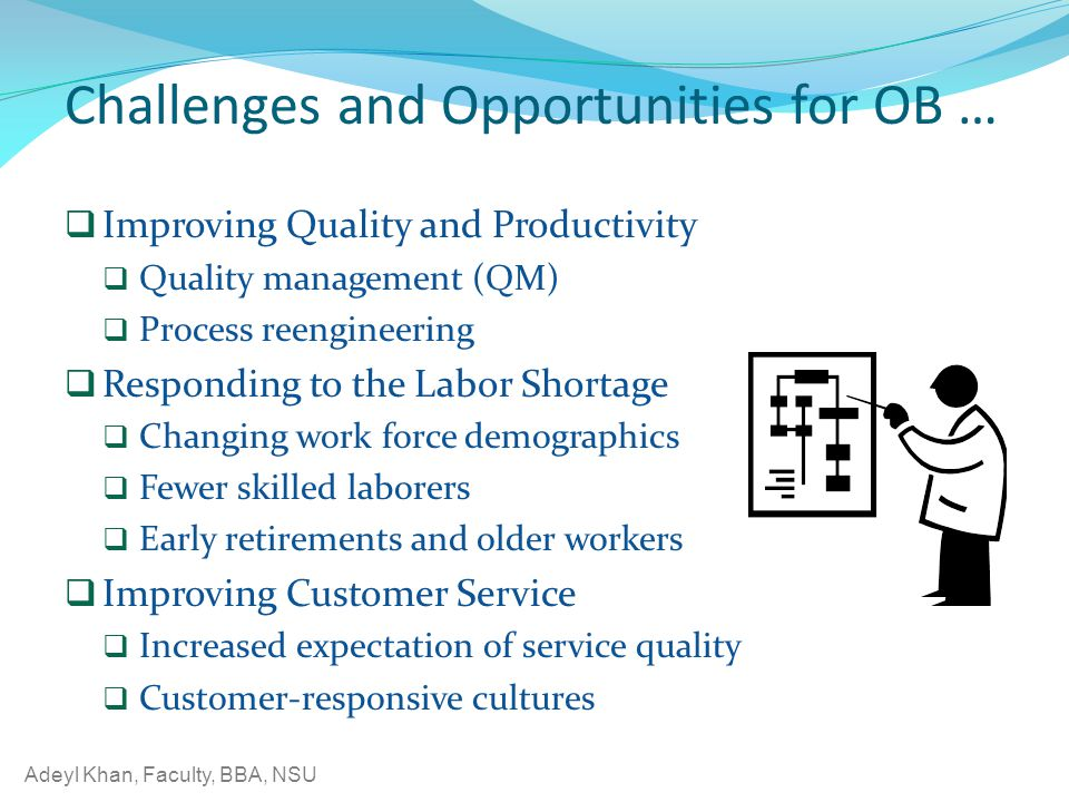 Challenges and Opportunities for OB …