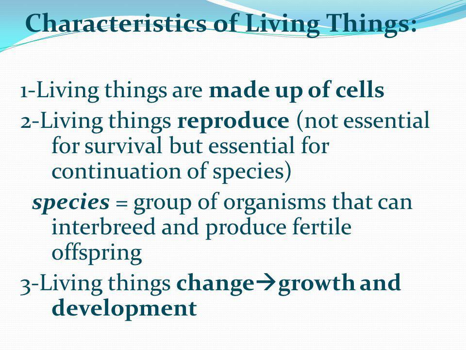 1-Living things are made up of cells