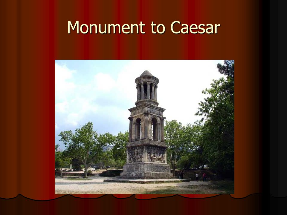 Monument to Caesar