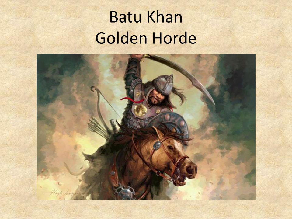 Batu Khan Golden Horde