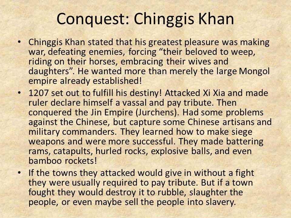 Conquest: Chinggis Khan
