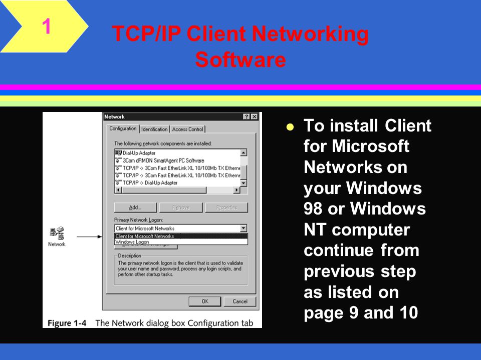 TCP/IP Client Networking Software
