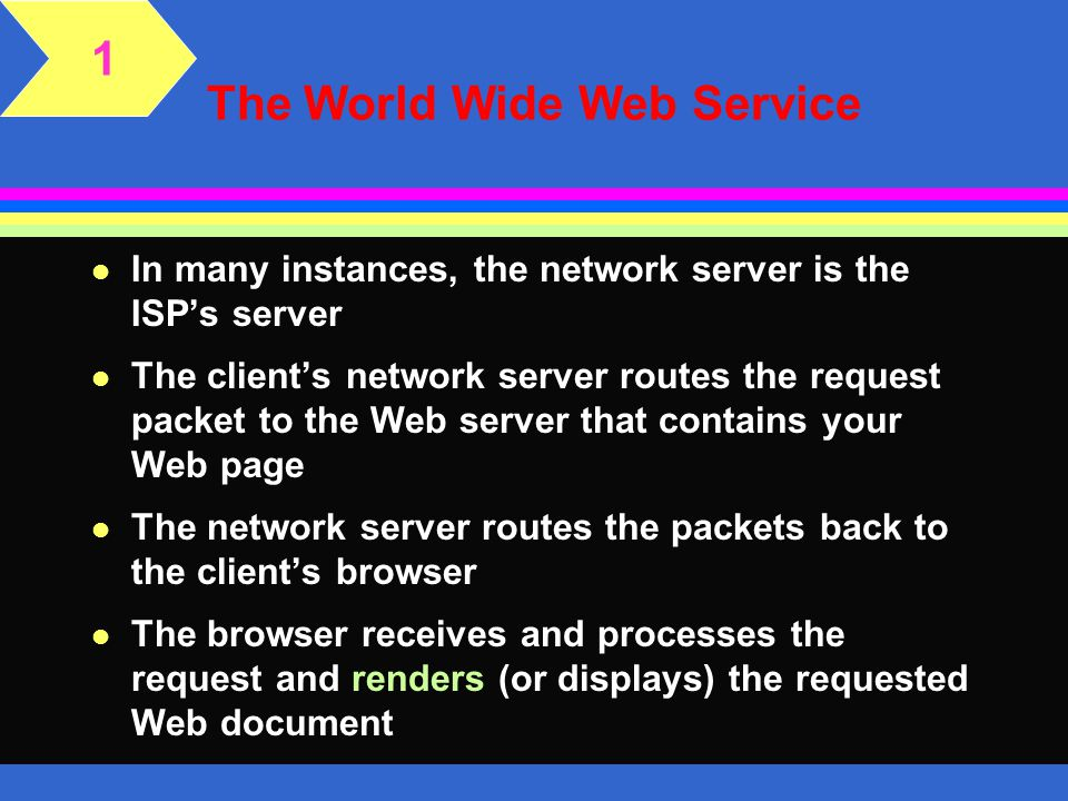 The World Wide Web Service