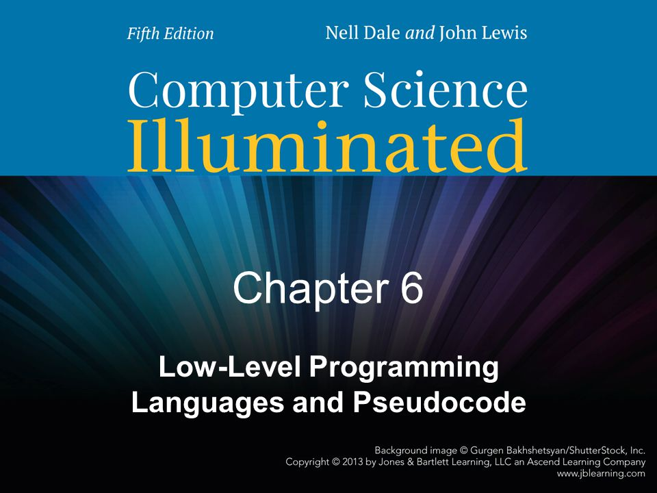 Low-Level Programming Languages and Pseudocode
