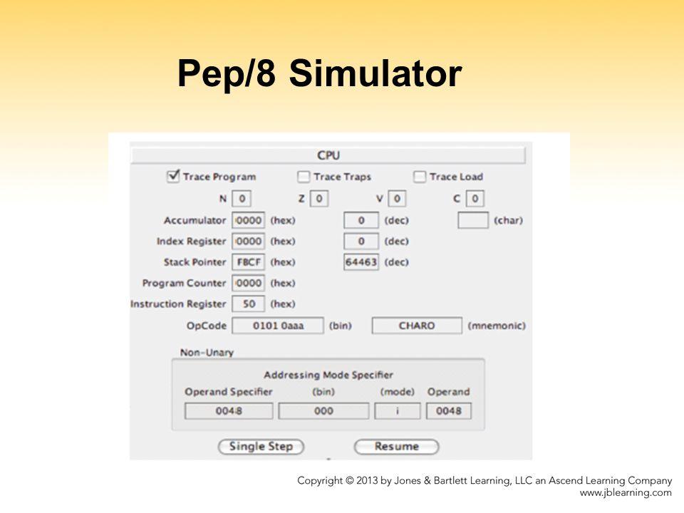 Pep/8 Simulator