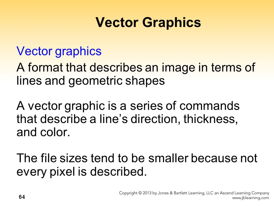 Vector Graphics Vector graphics
