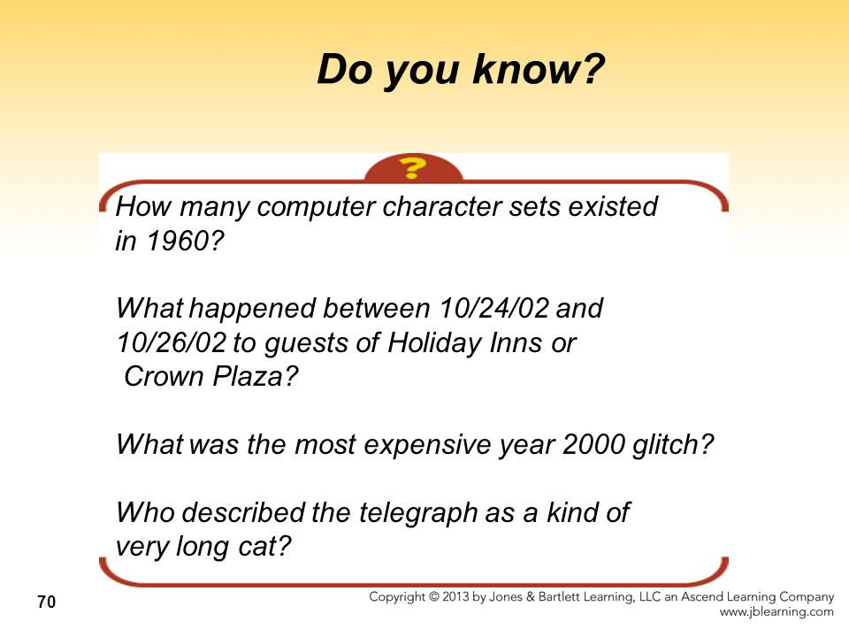 Do you know How many computer character sets existed in 1960