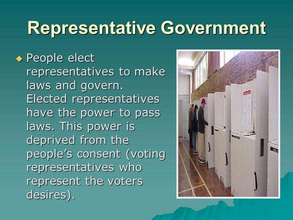 Representative Government