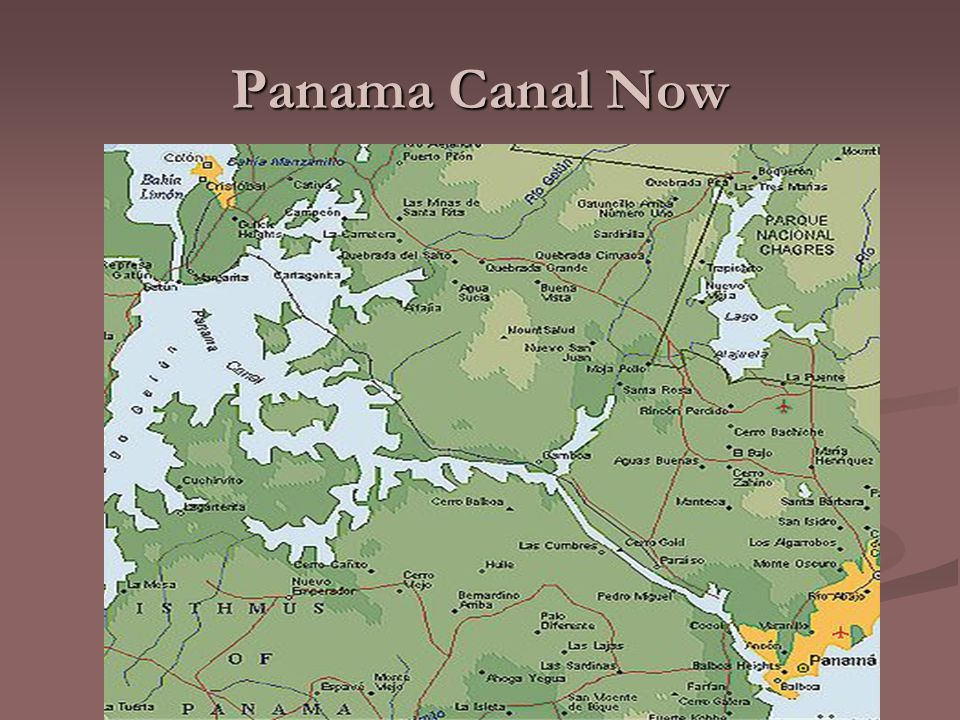 Panama Canal Now