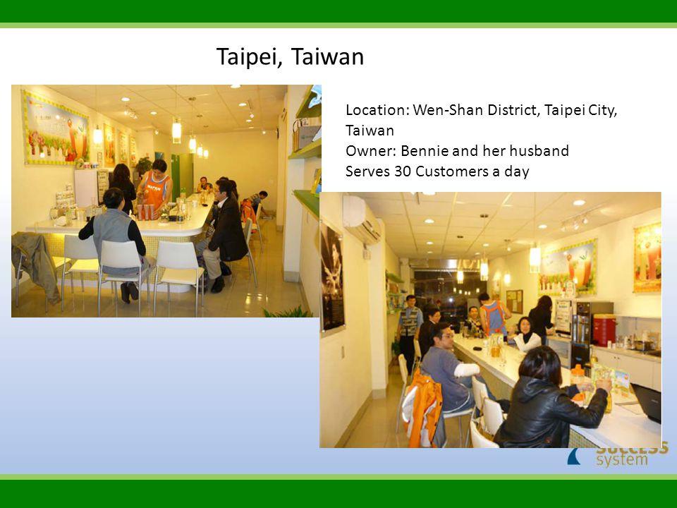 Taipei, Taiwan Location: Wen‐Shan District, Taipei City, Taiwan
