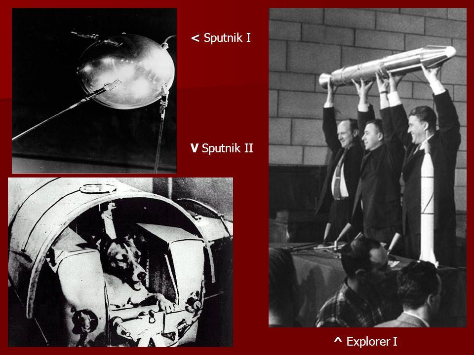 < Sputnik I V Sputnik II ^ Explorer I