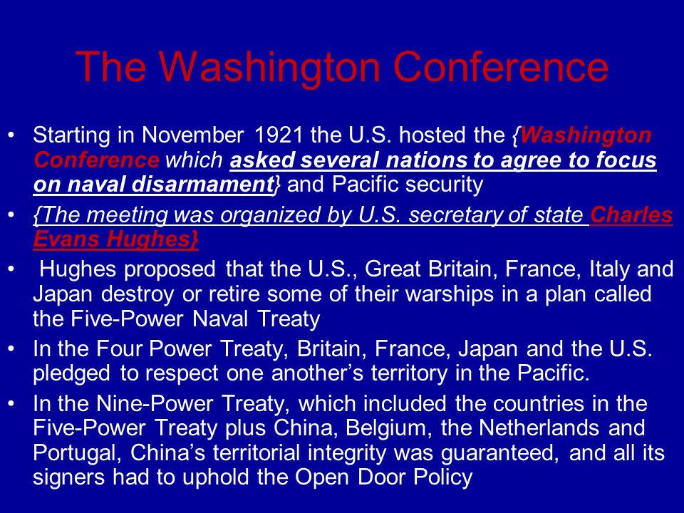 The Washington Conference