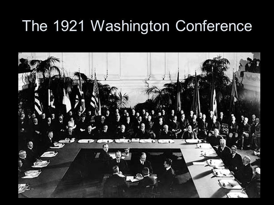The 1921 Washington Conference