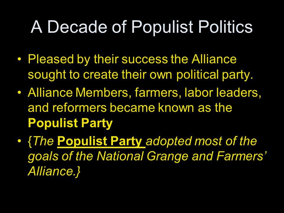 A Decade of Populist Politics