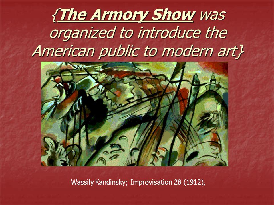 Wassily Kandinsky; Improvisation 28 (1912),