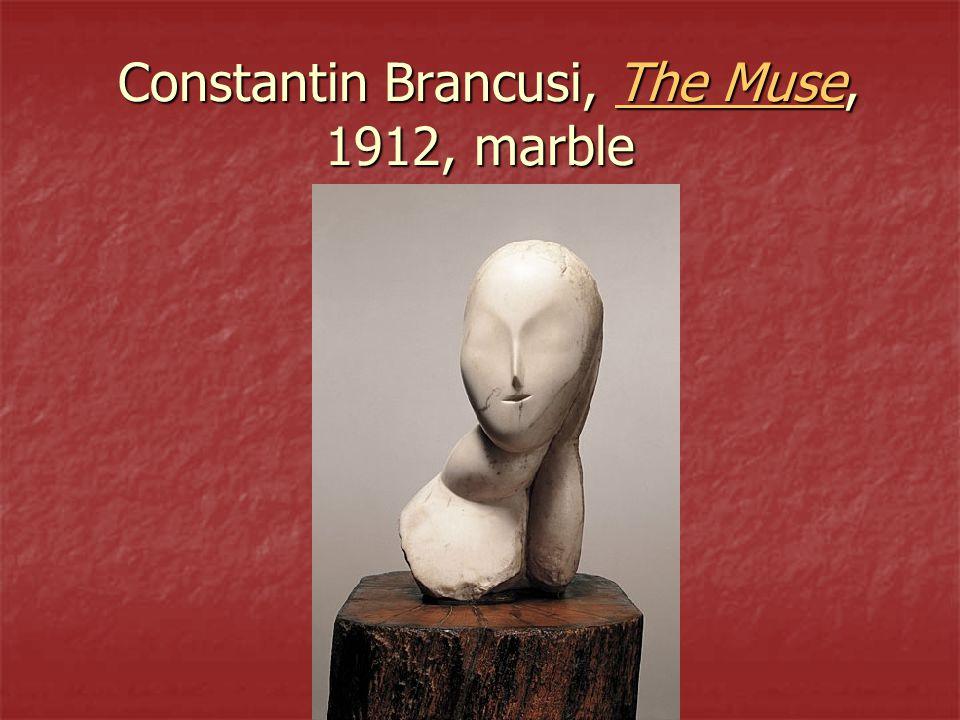 Constantin Brancusi, The Muse, 1912, marble