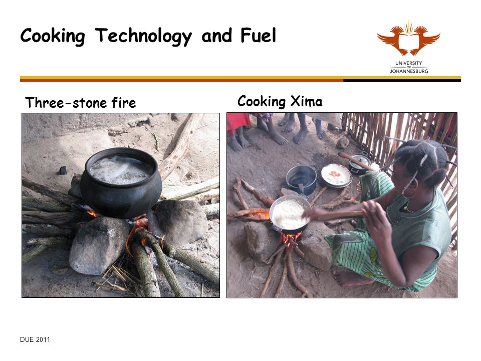Cooking Technology and Fuel