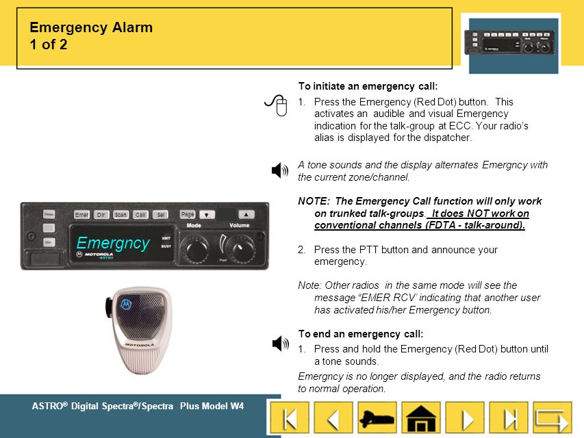 Emergncy Emergency Alarm 1 of 2