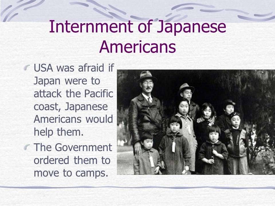 Internment of Japanese Americans