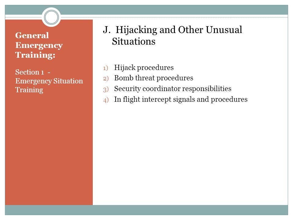 General Emergency Training: