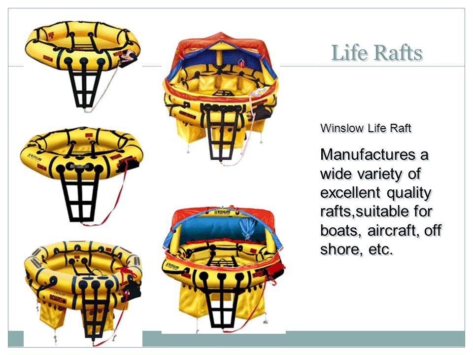 Life Rafts Winslow Life Raft.