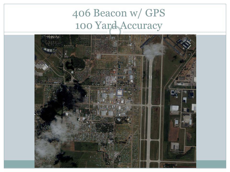 406 Beacon w/ GPS 100 Yard Accuracy