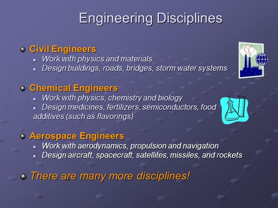Engineering Disciplines