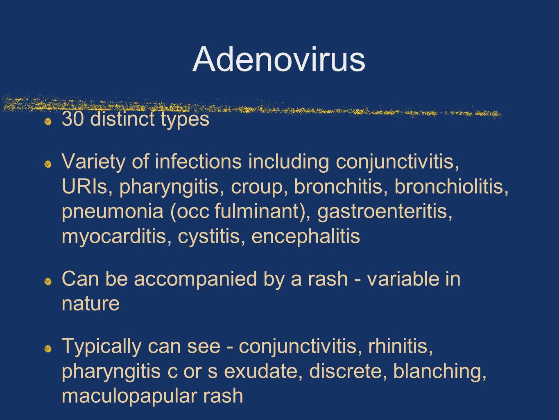 Adenovirus 30 distinct types