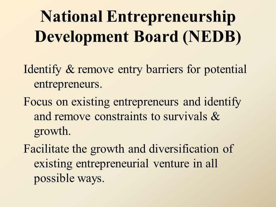 National Entrepreneurship Development Board (NEDB)