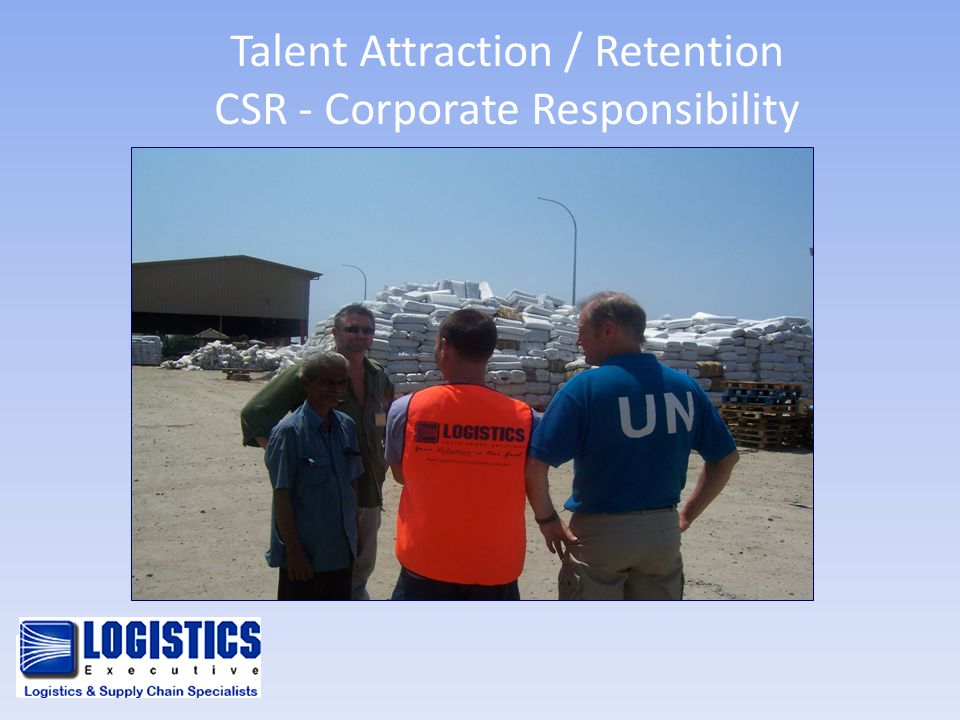 Talent Attraction / Retention CSR - Corporate Responsibility
