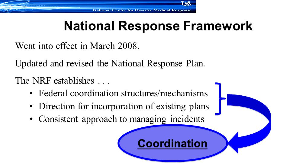 National Response Framework