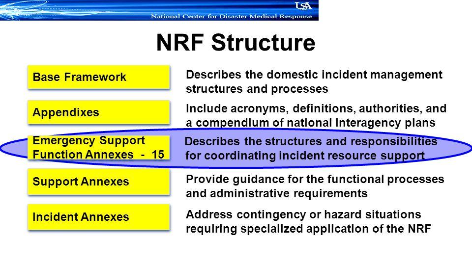 NRF Structure Base Framework