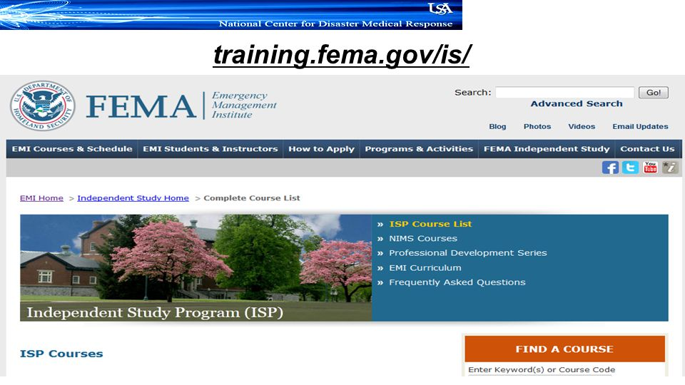 training.fema.gov/is/