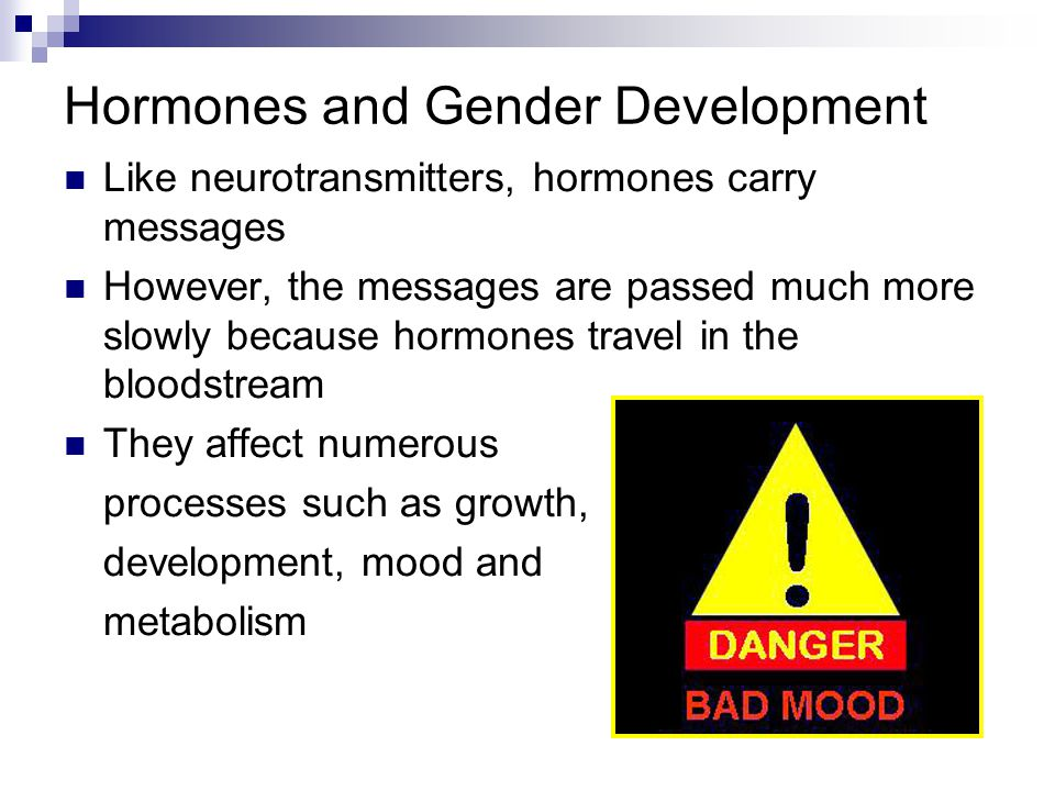 Hormones and Gender Development