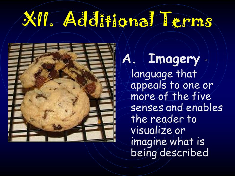 XII. Additional Terms A. Imagery -