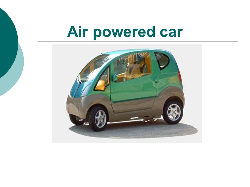 Air powered car