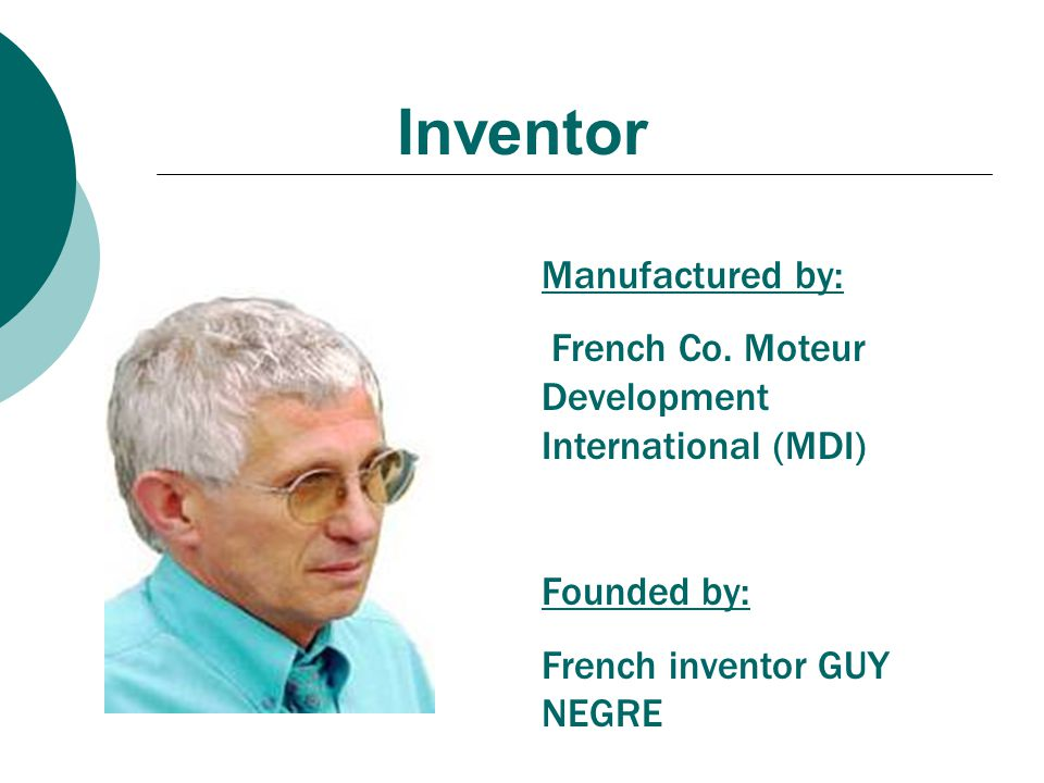 Inventor Manufactured by: