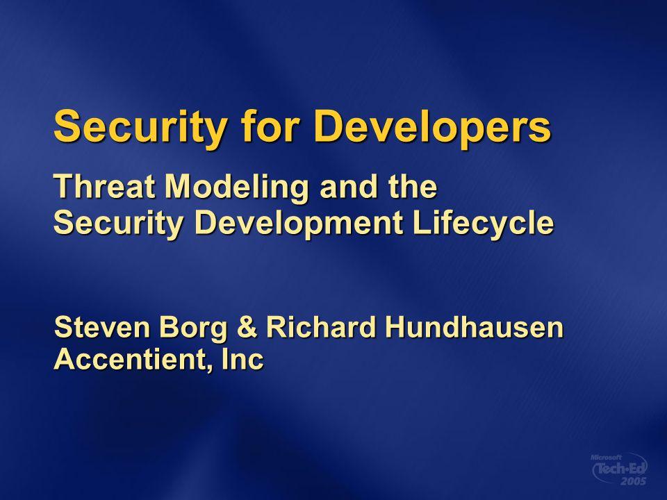 Steven Borg & Richard Hundhausen Accentient, Inc