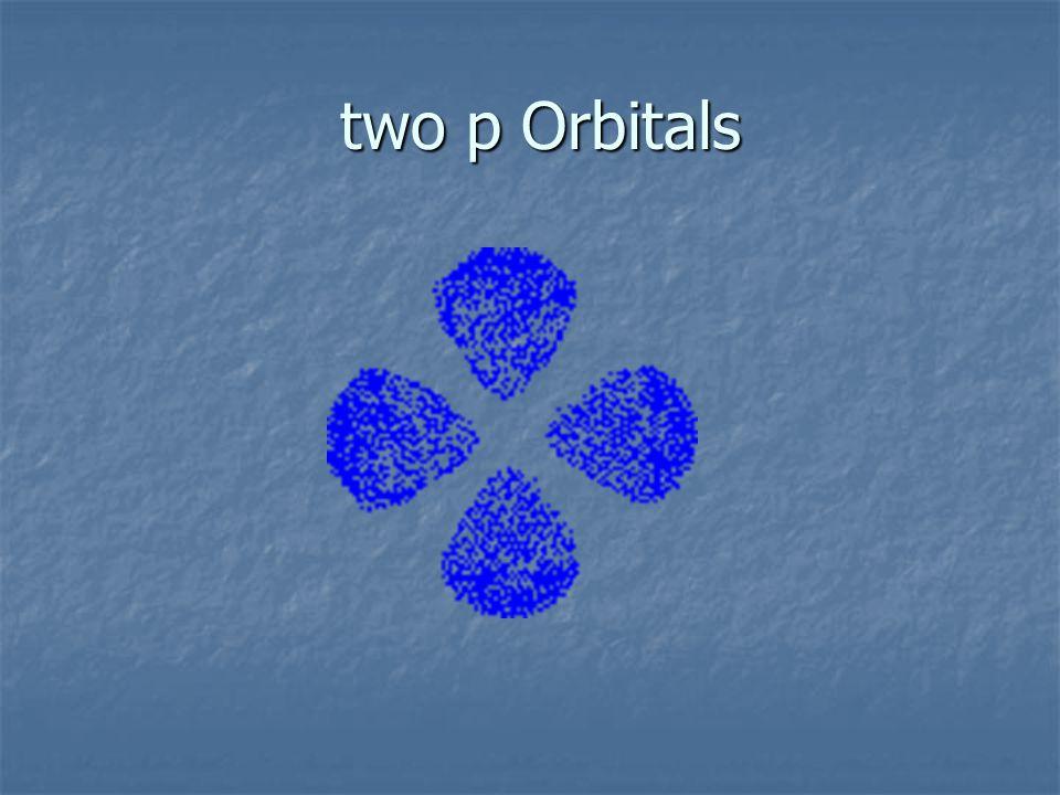 two p Orbitals