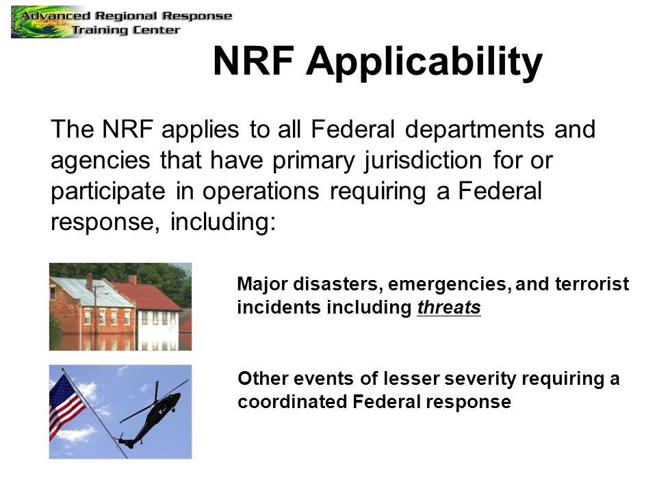 NRF Applicability
