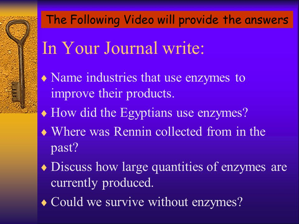 The Following Video will provide the answers