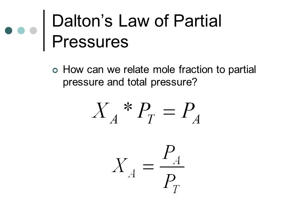 Gas Laws Chapters ppt video online download – Daltons Law Worksheet