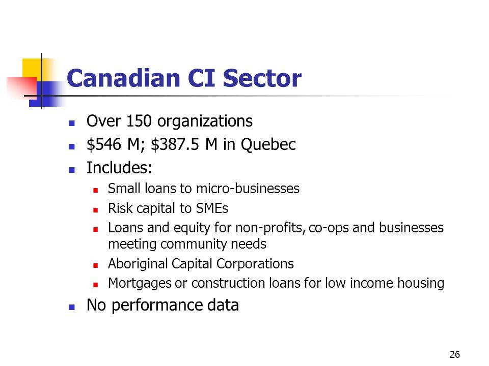 Canadian CI Sector Over 150 organizations $546 M; $387.5 M in Quebec