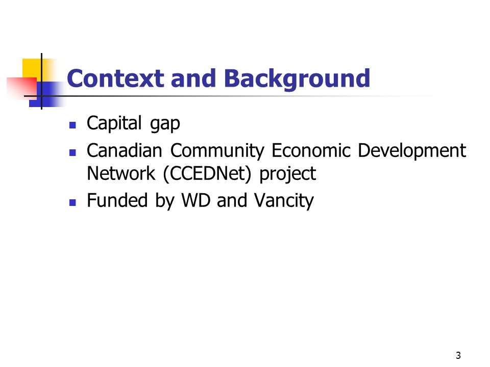 Context and Background