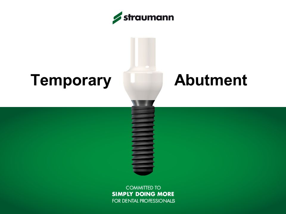 Temporary Abutment