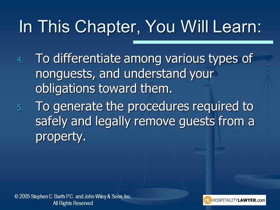 In This Chapter, You Will Learn: