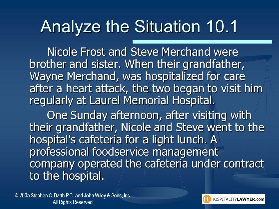 Analyze the Situation 10.1