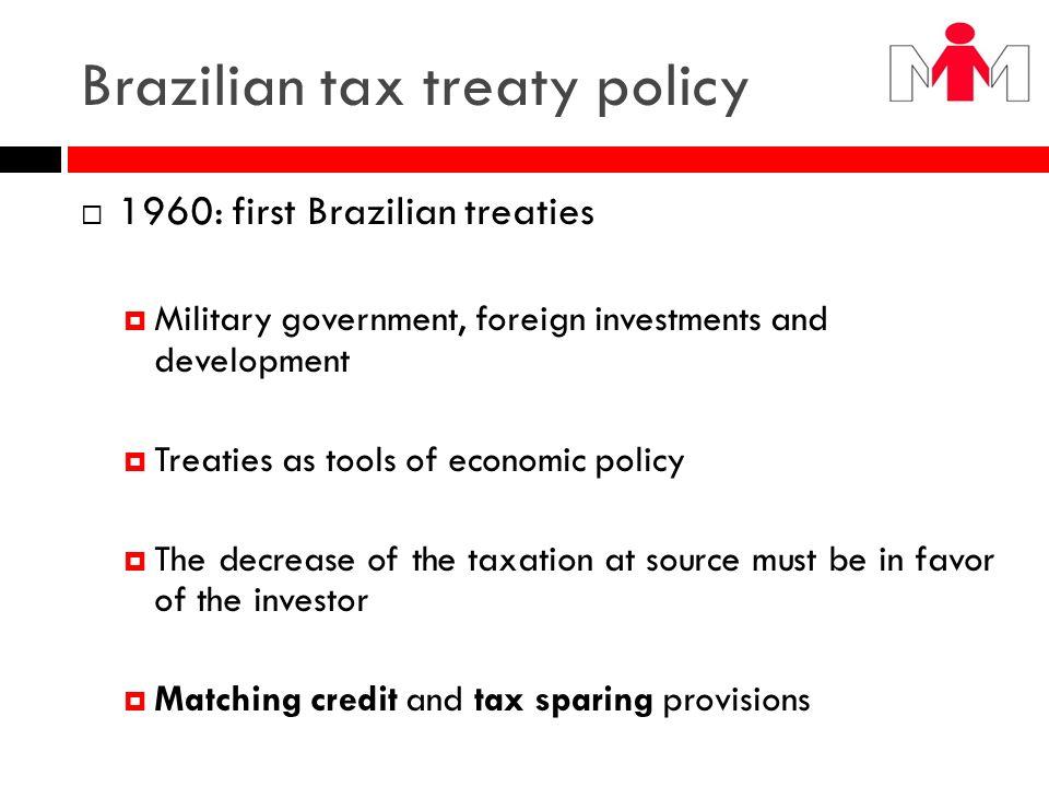 Brazilian tax treaty policy