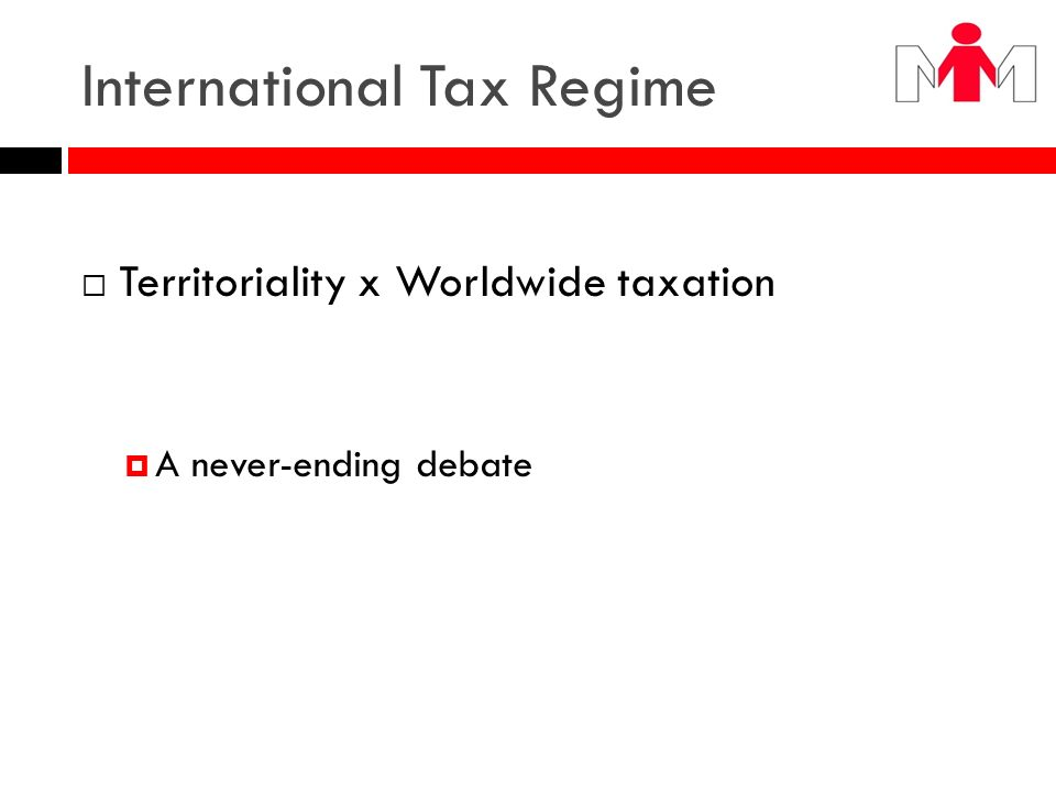 International Tax Regime
