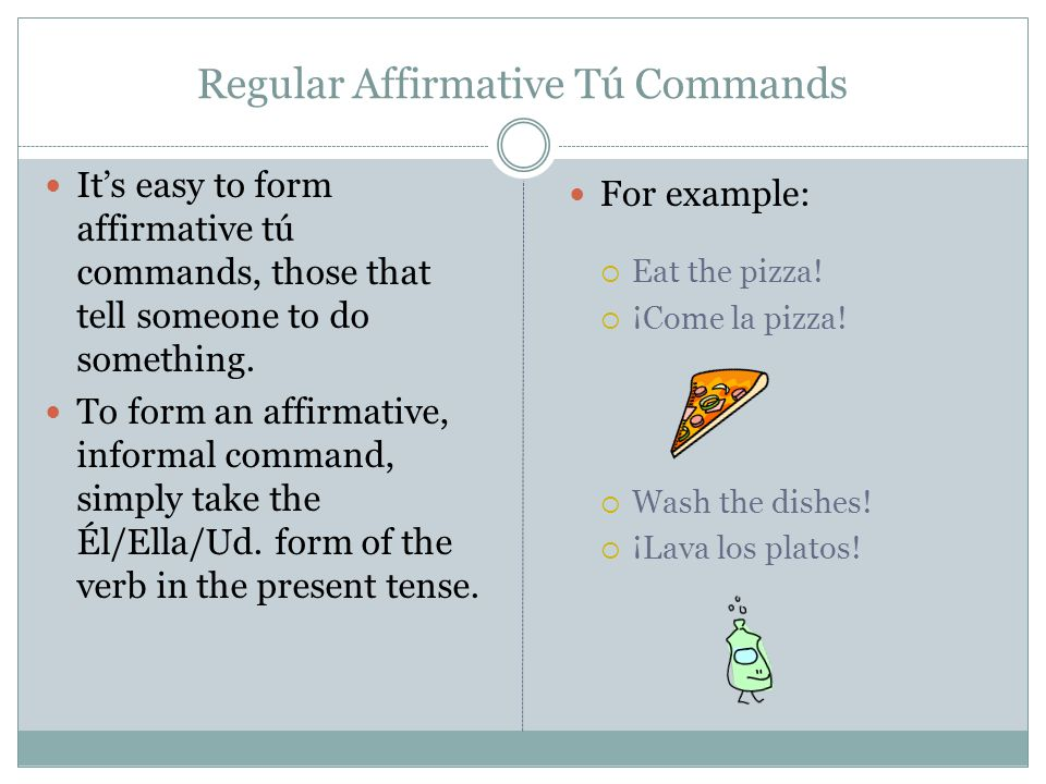 Forming affirmative commands with reflexive verbs (L'Impératif)